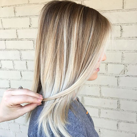 Blonde Highlights Balayage Ombre Colors