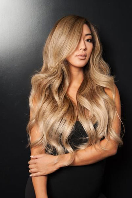 Ombre Blonde Balayage Dirty Chocolate Brown