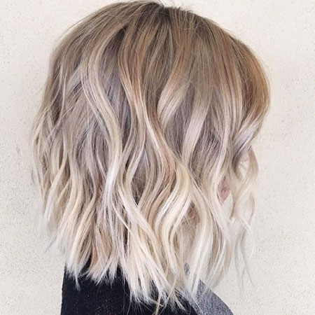 Blonde Hairstyles, Short Hairstyles, Balayage, Ash, Women, Textured