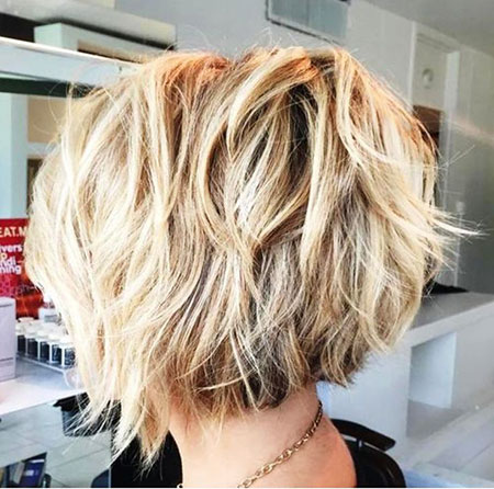 Short Hairstyles, Messy, Medium, Locks, Frisyrer, Blonde Hairstyles