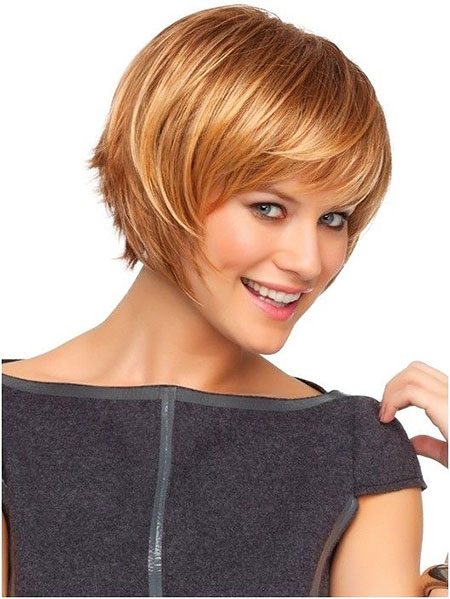 Wig, Side, Layered, Fringe, Cute Hairstyles, Blonde Bob Hairstyles