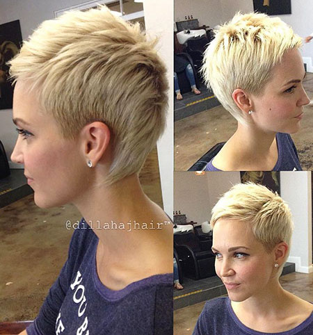 80+ Short Blonde Pixie Haircuts 2017 – Blonde Hairstyles 2017