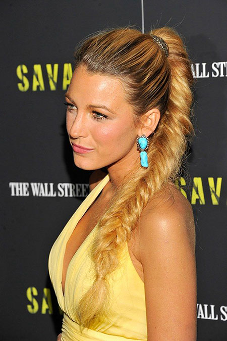 Fishtail, Lively, Blake, Summer, Plaits, Plait, Living