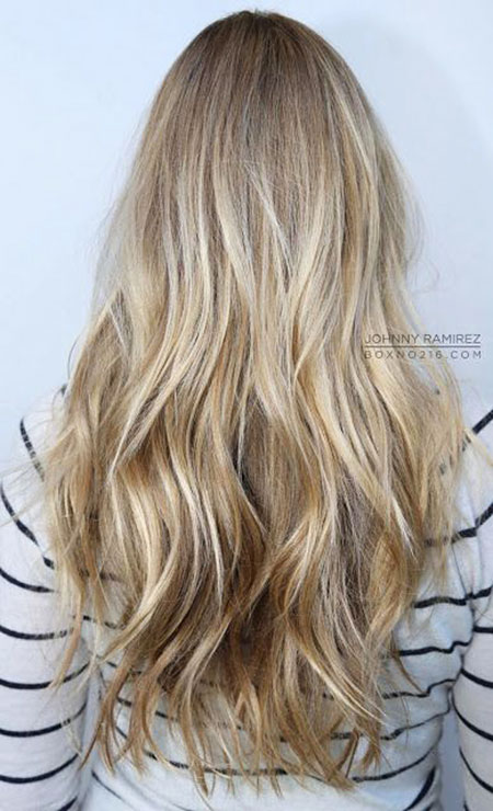 Blonde Balayage Ombre Dark Work Tone Summer Sombre