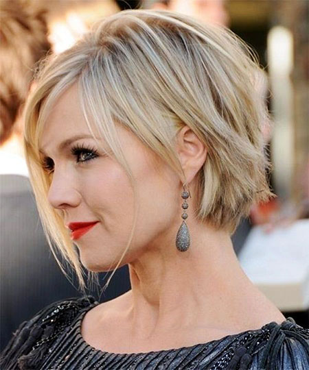 Short Hairstyles, Blonde Bob Hairstyles, Thin, Caramel, Brunette