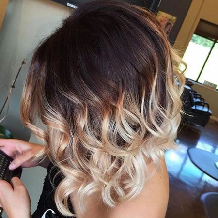 Ombre, Blonde Hairstyles, Short Hairstyles, Highlights, Brown