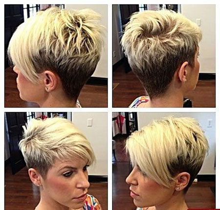 Short Hairstyles, Pixie Cut, Women, Should, Over