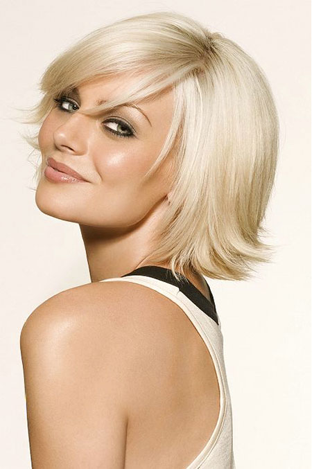Short Hairstyles, Blonde Bob Hairstyles, Platinum