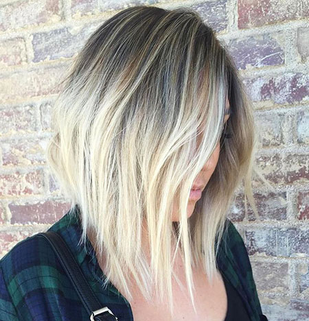 Blonde, Bob, Balayage, Textured, Lob, Layered, Inverted, Ends