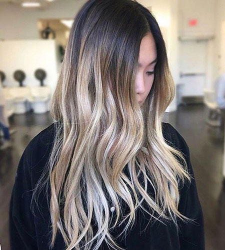 48 Long Blonde Balayage Hair Color Blonde Hairstyles 2017