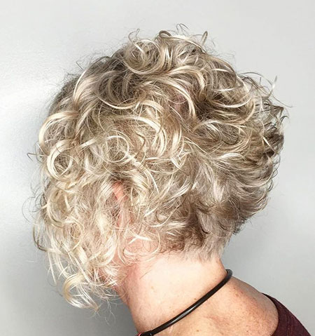 Curly, Short Hairstyles, Blonde Bob Hairstyles, Blonde Hairstyles, Women, Wavy