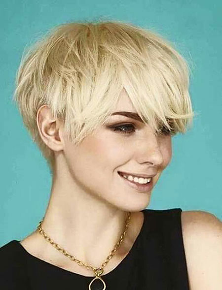 Short Hairstyles, Pixie Cut, Straight Hairstyles, Layered