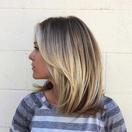 Blonde Bob Hairstyles, Blonde Hairstyles, Balayage, Long
