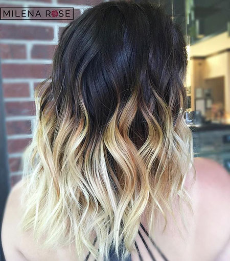 Blonde Hairstyles, Ombre, Balayage, Black, Women