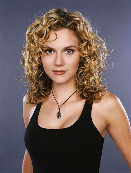 Curly, Medium, Length, Tree, One, Naturally, Mccord, Hilarie