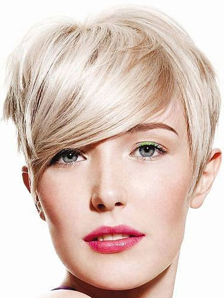 Short Hairstyles, Pixie Cut, Blonde Hairstyles, Part, Dark