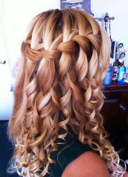Braid, Waterfall, Long, French, Braided, Styl, Some