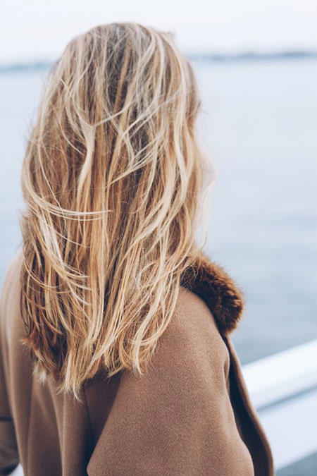 Waves, Blonde, Long, Beach, Sombre, Bob, Beachy