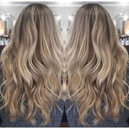 Blonde Lowlights Highlights Balayage Pretty Ombre