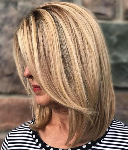 Blonde Hairstyles, Highlights, Wavy, Lowlights, Long, Balayage