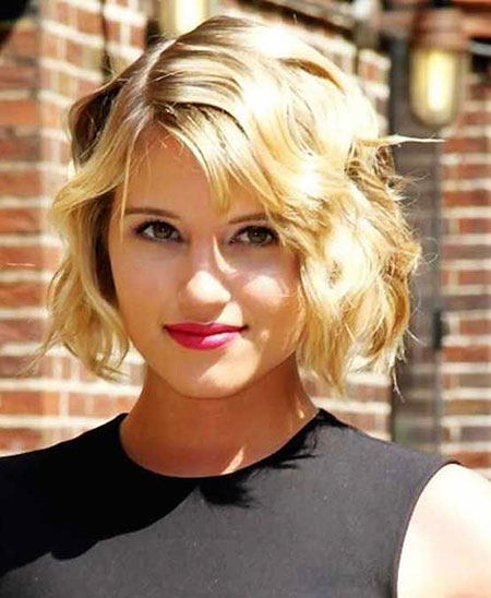 Short Hairstyles, Blonde Bob Hairstyles, Wavy, Women