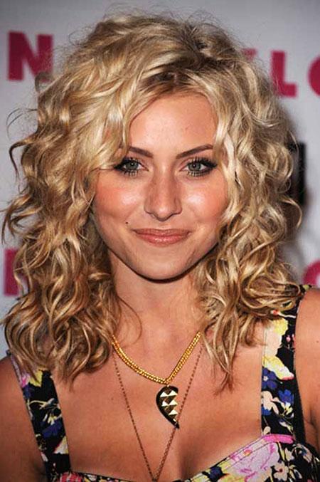 Curly, Naturally, Medium, Mccord, Layered, Curls, Annalynne
