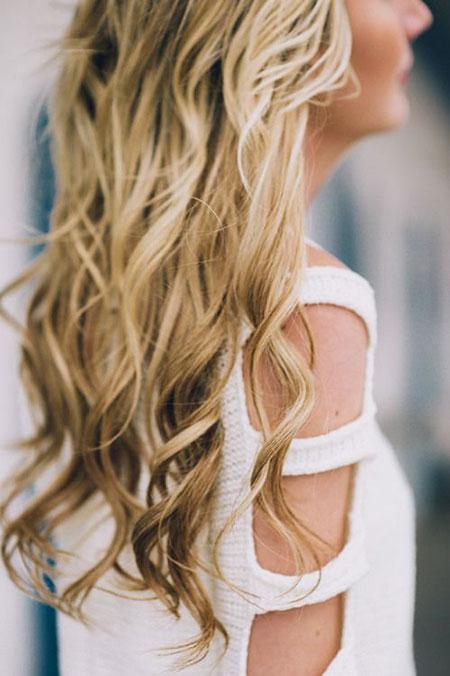 Wedding, Waterfall, Long, Curls, Braided, Braid