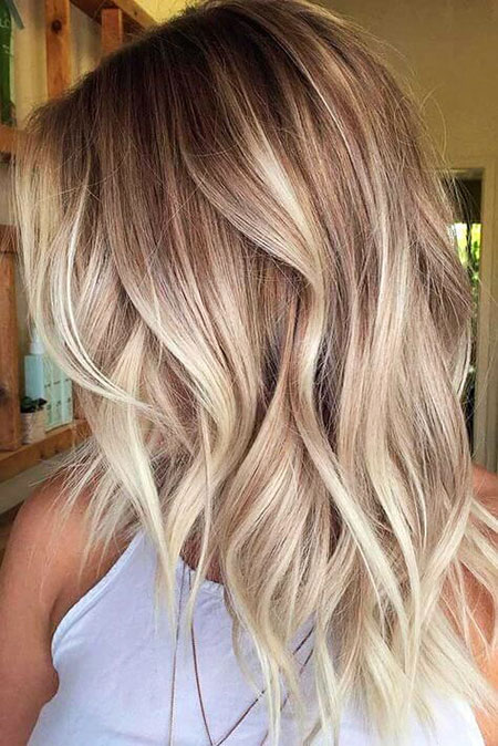Blonde Hairstyles, Balayage, Blonde Bob Hairstyles, Ash, Wavy, Ombre, Long