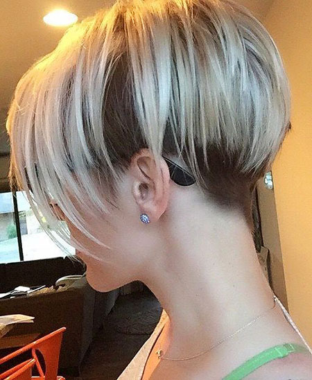 Short Hairstyles, Blonde Bob Hairstyles, Blonde Hairstyles, Undercut