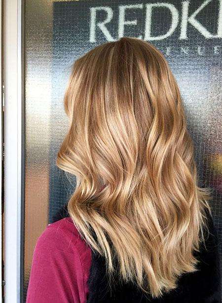 Blonde, Shoulder, Length, Fun, Platinum, Medium