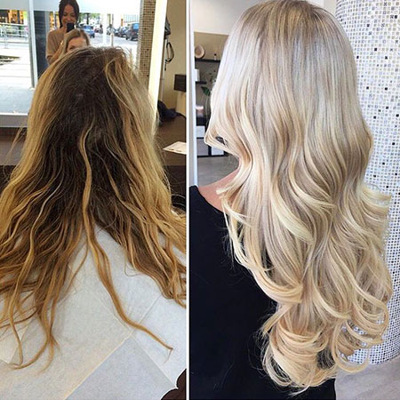 Blonde, Ombre, Long, Bleach, Balayage, Shade, Locks, Girls
