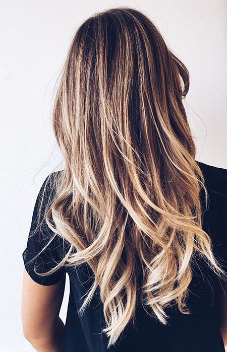 Ombre Blonde Balayage Trends Highlights Brunette Brown