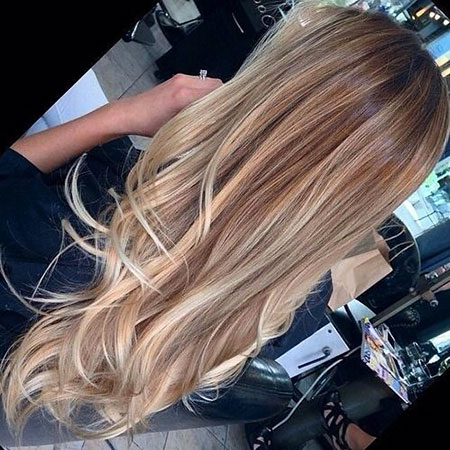 Blonde, Highlights, Balayage, Really, Ombre, Dark