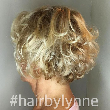 Curly, Short Hairstyles, Women, Wedding, Blonde Bob Hairstyles