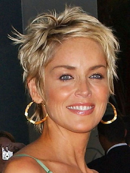 Short Hairstyles, Women, Styles, Stone, Some, Sharon, Shape, Round, Pretty