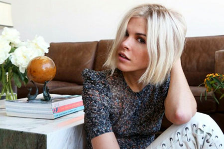 Short Hairstyles, Platinum, Long, Front, Blonde Hairstyles, Blond