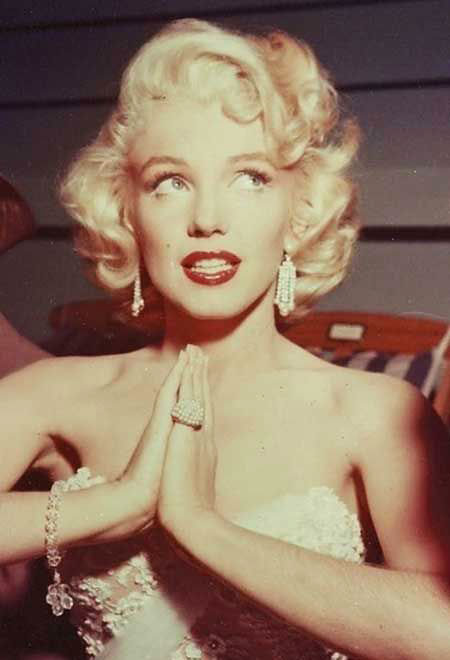 Monroe, Marilyn, Women, Stacked, Short Hairstyles, Real
