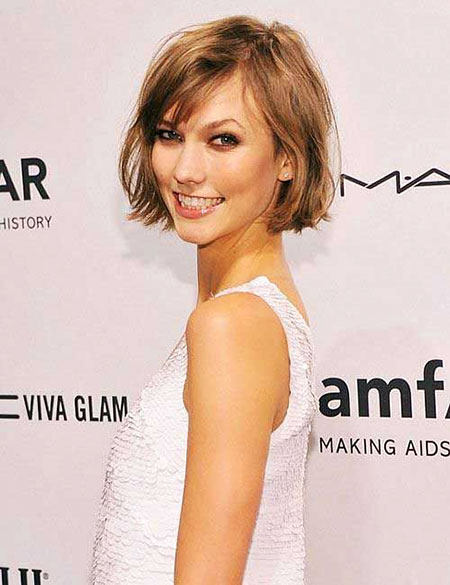 Short Hairstyles, Bangs, Waves, Little, Layered, Fashion, Beach