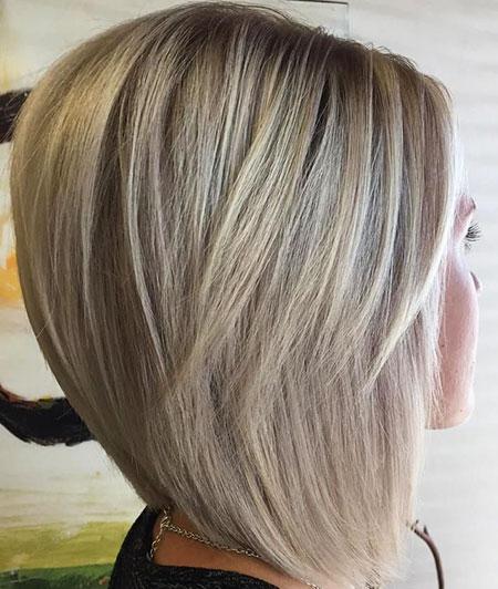 Blonde Bob Hairstyles, Blonde Hairstyles, Short Hairstyles, Purple, Lowlights, Lob