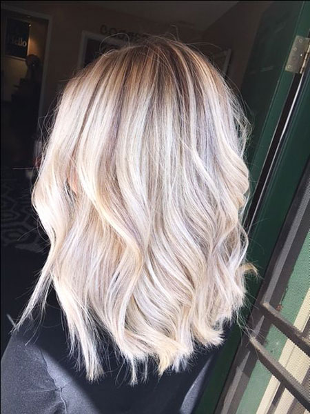 Blonde Hairstyles, Lowlights, Highlights, Balayage, Texture