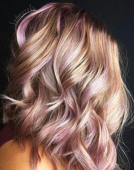Rose, 2017, Up, Tang, Short Hairstyles, Pink, Home, Guy, Blonde Hairstyles, Balayage