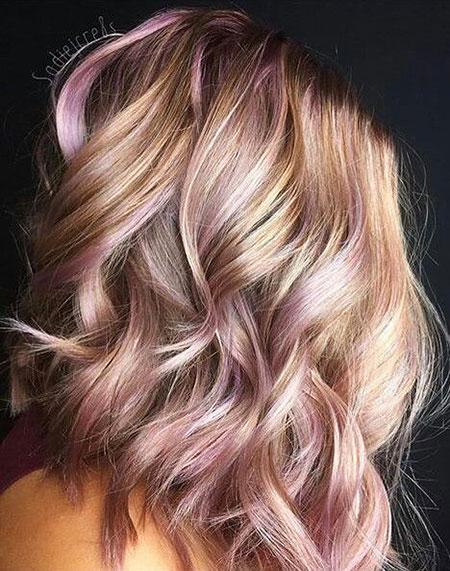 Rose, 2017, Up, Tang, Short Hairstyles, Pink, Home, Guy, Blonde Hairstyles, Balayage