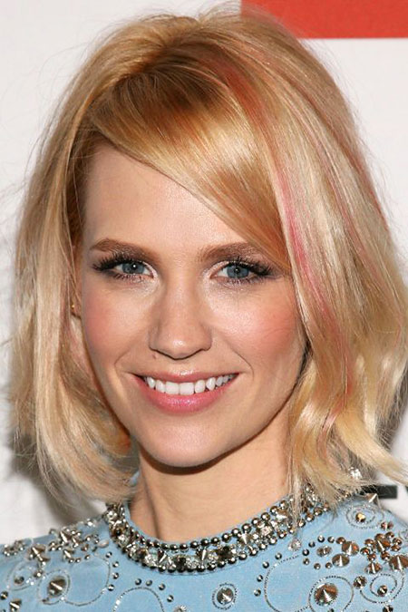 Blonde Bob Hairstyles, Work, Updo, Mother, Medium, Length, Celebrity
