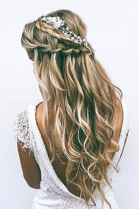Braid, Wedding, Waterfall, Braided, Prom, Long, Easy