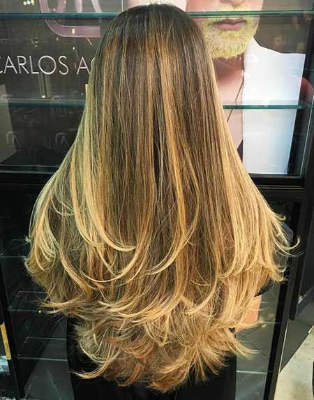 Long Layered Blonde Balayage Ombre Layers Texture Soft