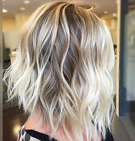 Blonde Hairstyles, Balayage, Women, Very, Short Hairstyles