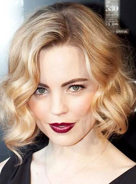 Short Hairstyles, Wavy, Lips, Blonde Hairstyles, Wedding, Summer