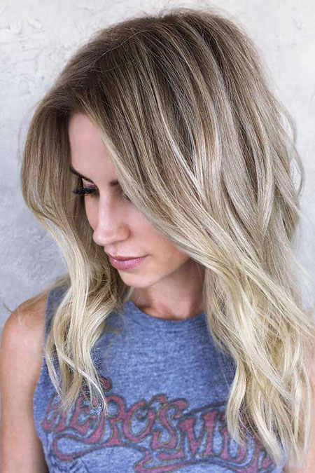 Blonde, Blond, Highlights, Balayage, Season, Ombre, Colors