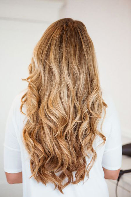Blonde, Curls, Balayage, Ombre, Loose, Long, Joelle, Highlights