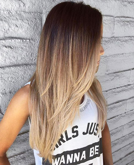 Ombre, Long, Wavy, Straight, Layers, Layered, Layer, Eye, Edgy, Easy